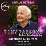 Tony Parsons Retreat - November 2020